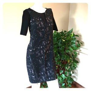 ELIE TAHARI FOR DESIGN NATION BLACK DRESS _XS